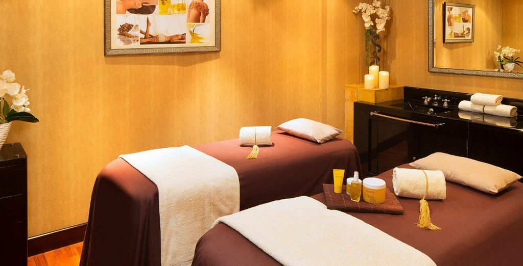 Indulge in some much needed pampering