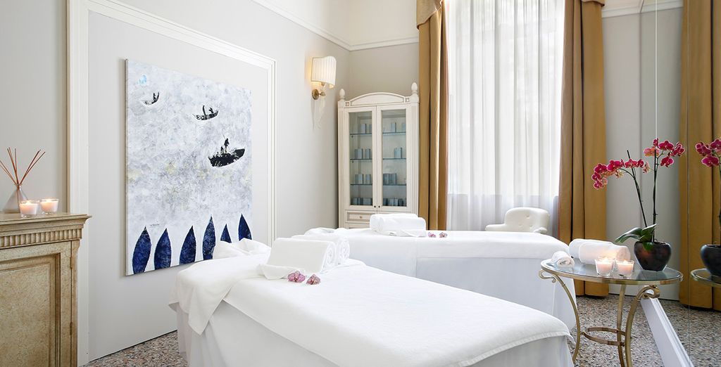 Indulge in a customised spa treatment