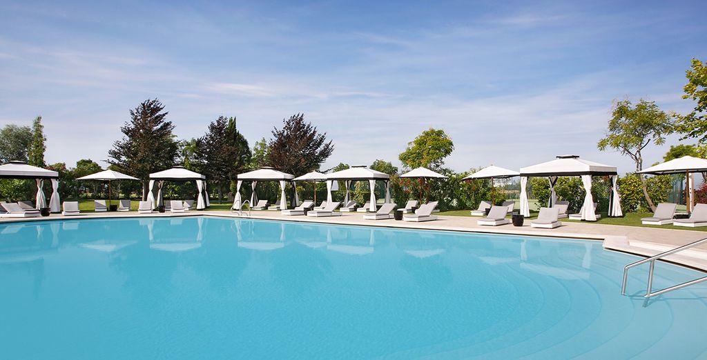 Take a dip in the fantastic pool