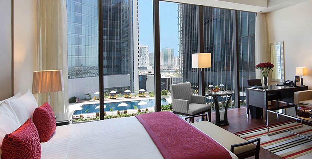 Where you can enjoy a pool view room