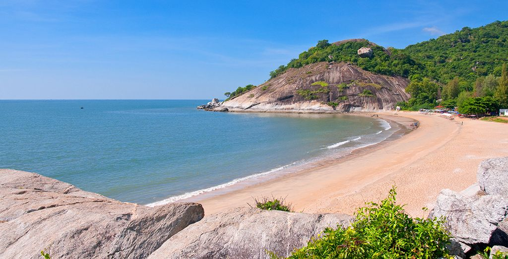 Then we will whisk you away to the pristine beaches of Hua Hin