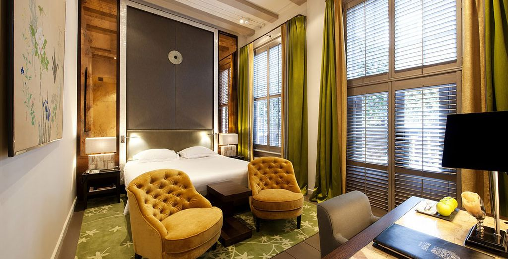 Discover the stylish rooms...
