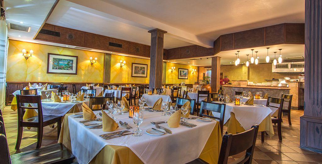 Formal dining awaits at Platinum restaurant