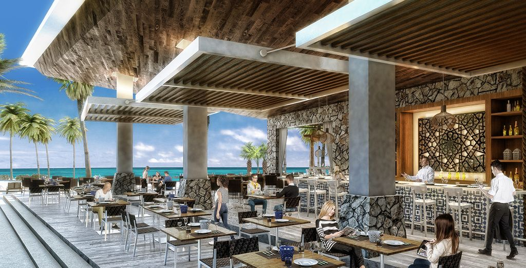 Trendsetting restaurants and lounges