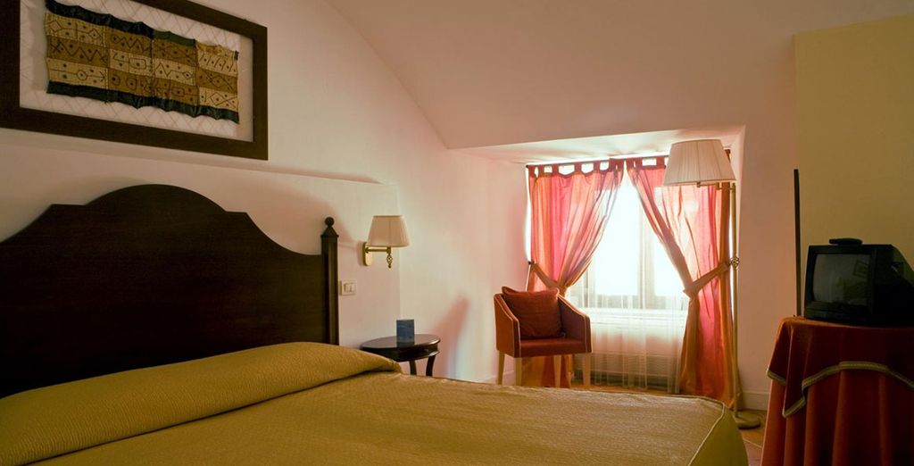 Relax in a lovely double room