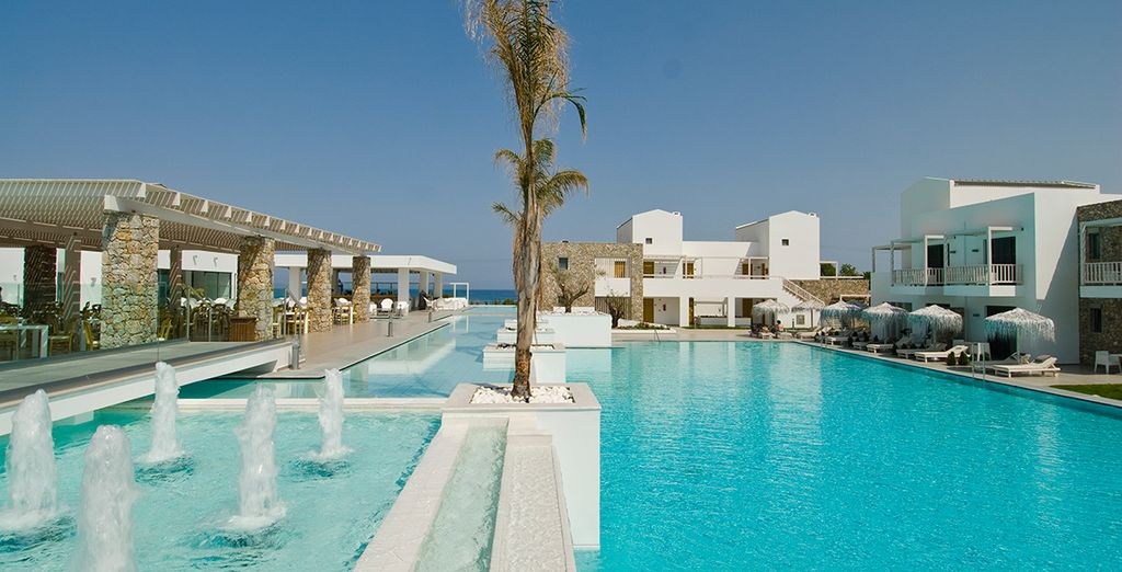 A magnificent modern resort - Diamond Deluxe Hotel 5* Kos Town