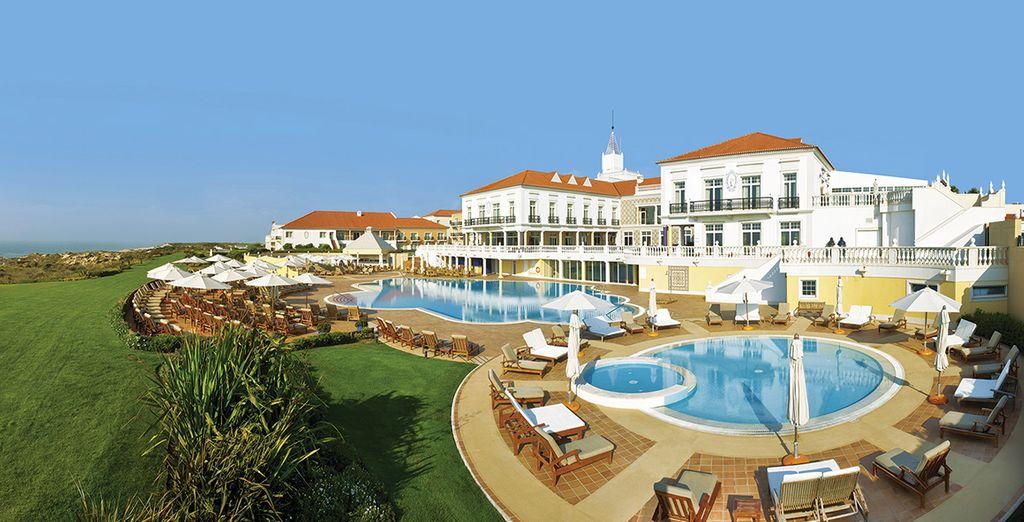 At the Praia D'El Rey Marriott Golf & Beach Resort