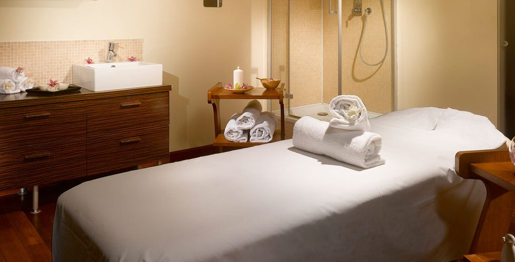 Home to tranquil treatment rooms