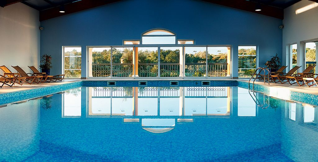 Or simply relax by the indoor pool on your relaxing spa break