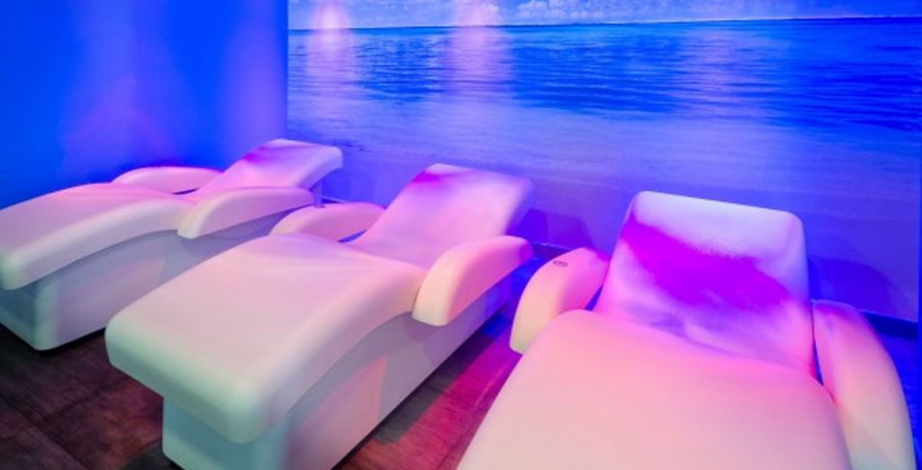 Or enjoying a treatment in the spa