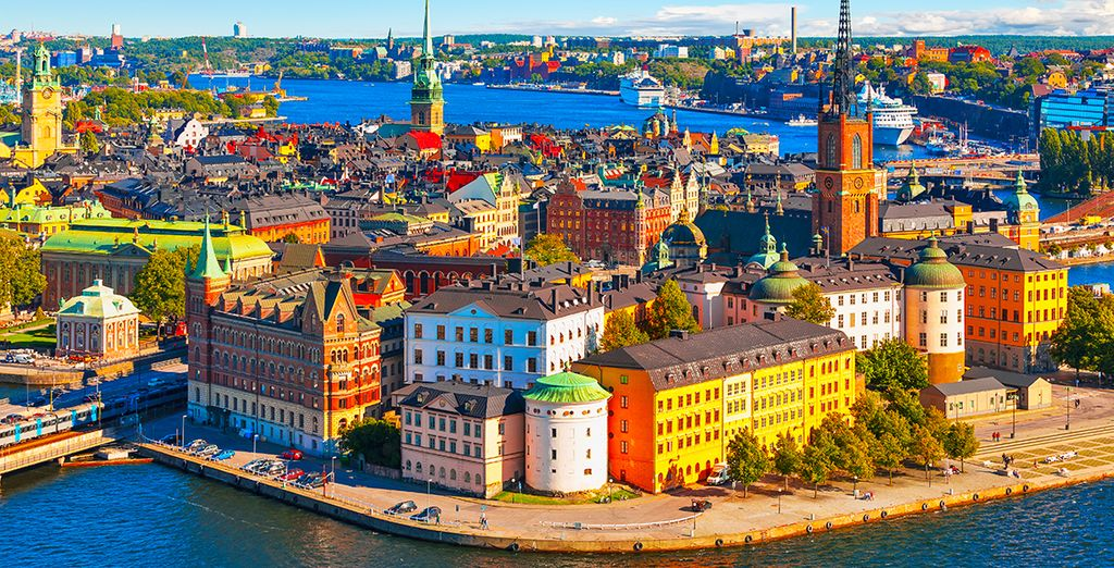 Stockholm is full of fantastic food and architecture