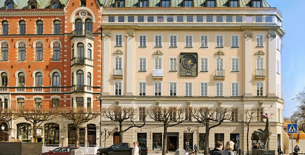 The Nobis Hotel is housed in a beautiful 19th century building