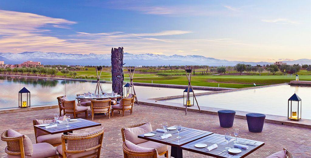A stunning luxury villa resort, at the foot of the Atlas mountains - Al Maaden Villa Hotel & Spa 5* Marrakech