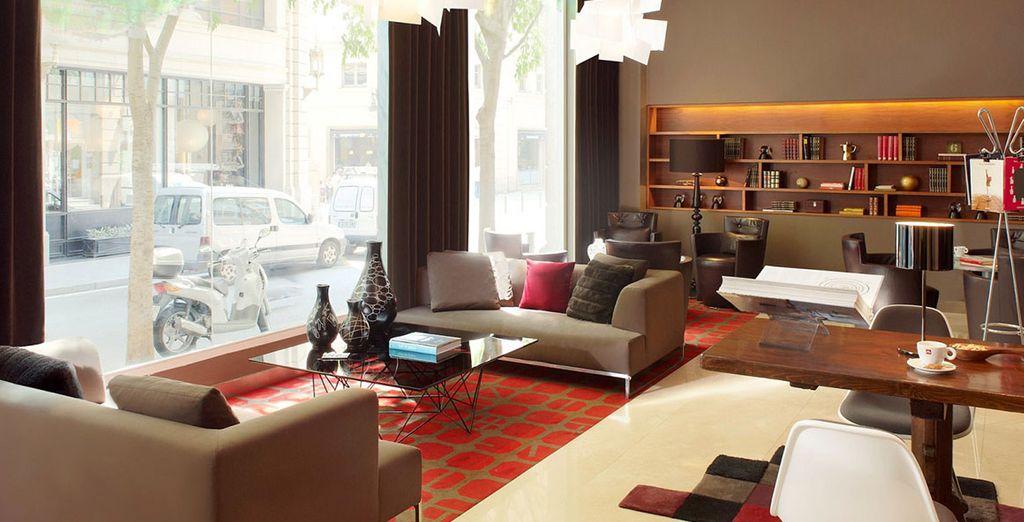 Contemporary design welcomes you - Le Meridien Barcelona 5* Barcelona