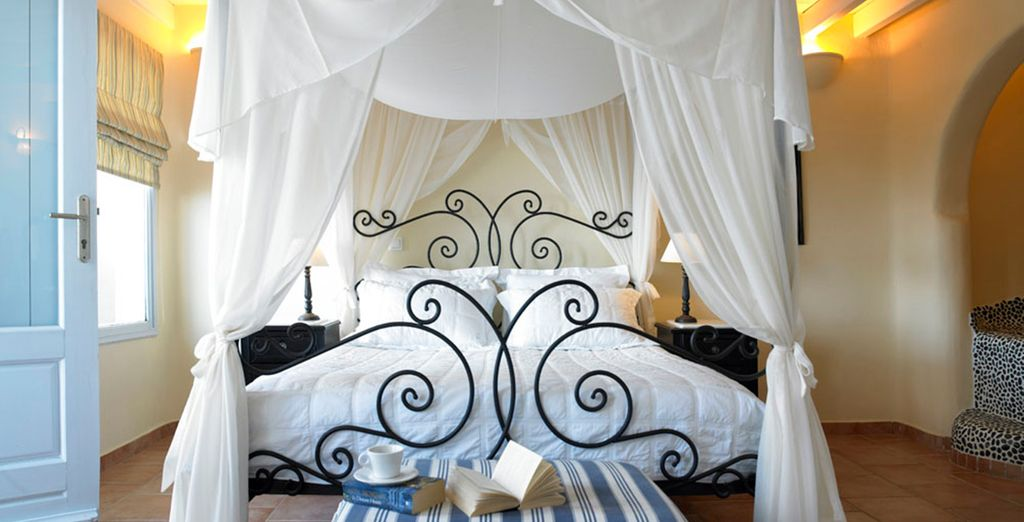 Our members may choose from an elegant Master Suite....