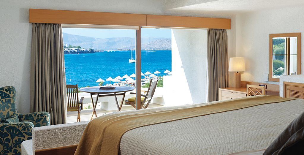 Stay in a Junior Suite with Sea View... - Elounda Peninsula All Suite Hotel 5* Elounda