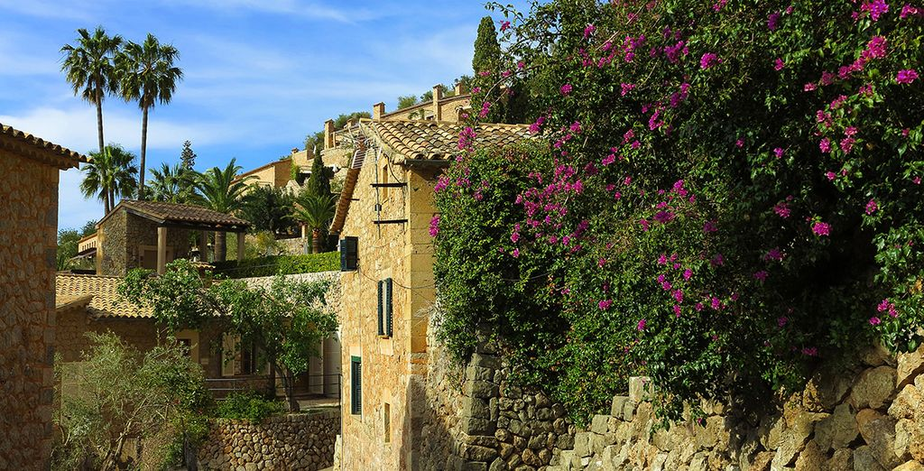 Exploring some of the beautiful mountain villages such as Deià (55km)