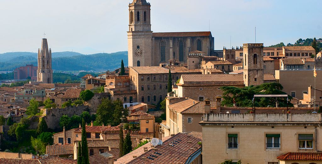 Historic Girona is just 30 minutes drive away