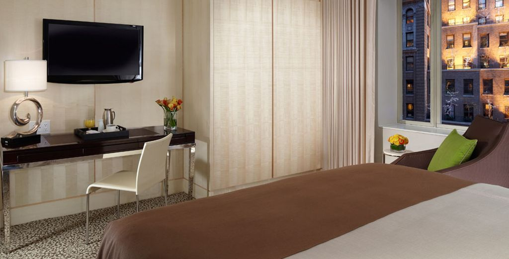 Our members can enjoy a Deluxe Room