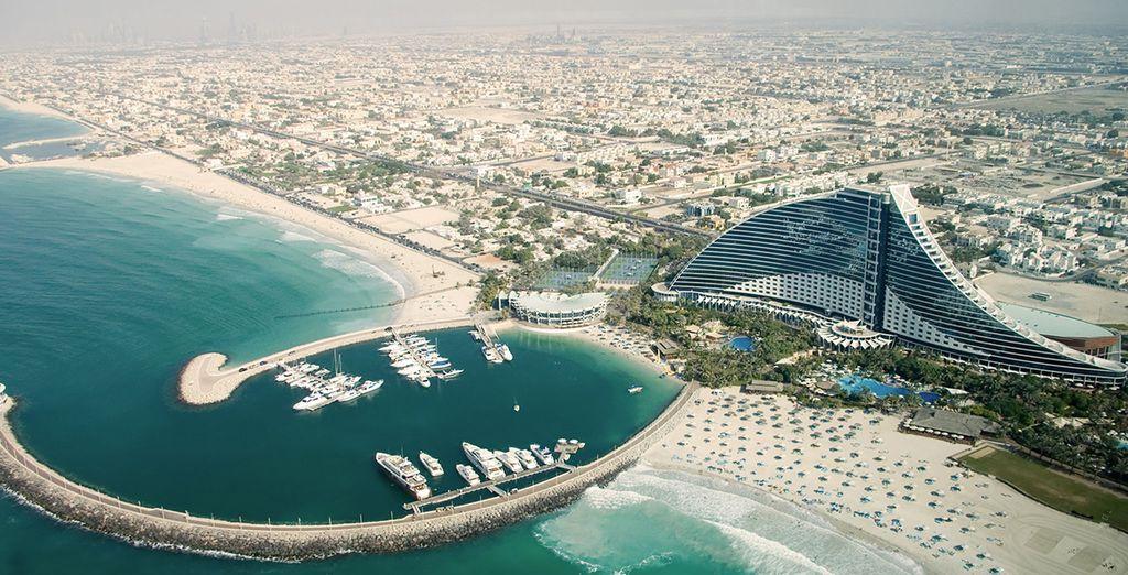 Or take the free shuttle to Jumeirah Beach