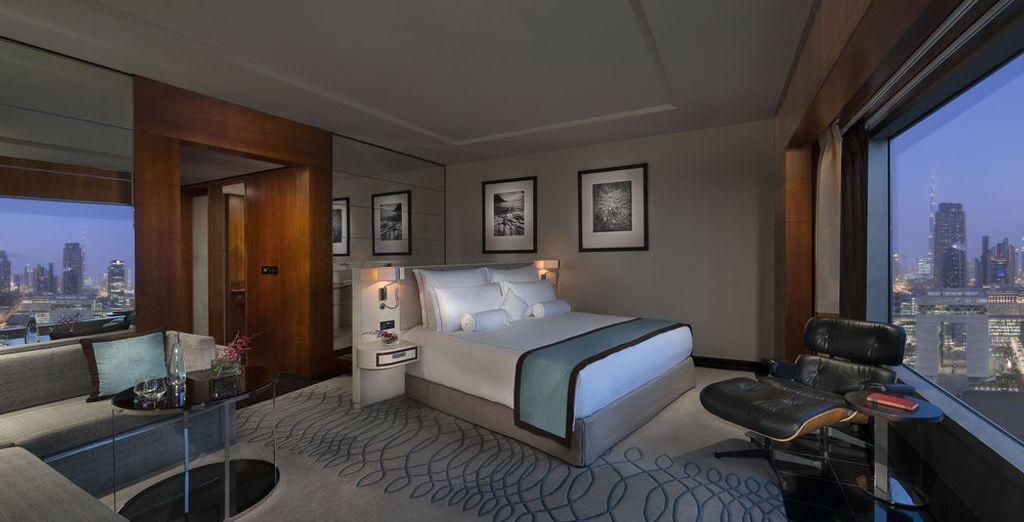 Sleep in a Deluxe Premier Room