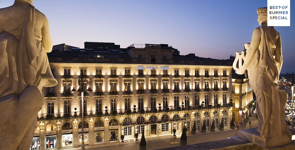 Discover history and elegance... - InterContinental Bordeaux - Le Grand Hotel 5* Bordeaux