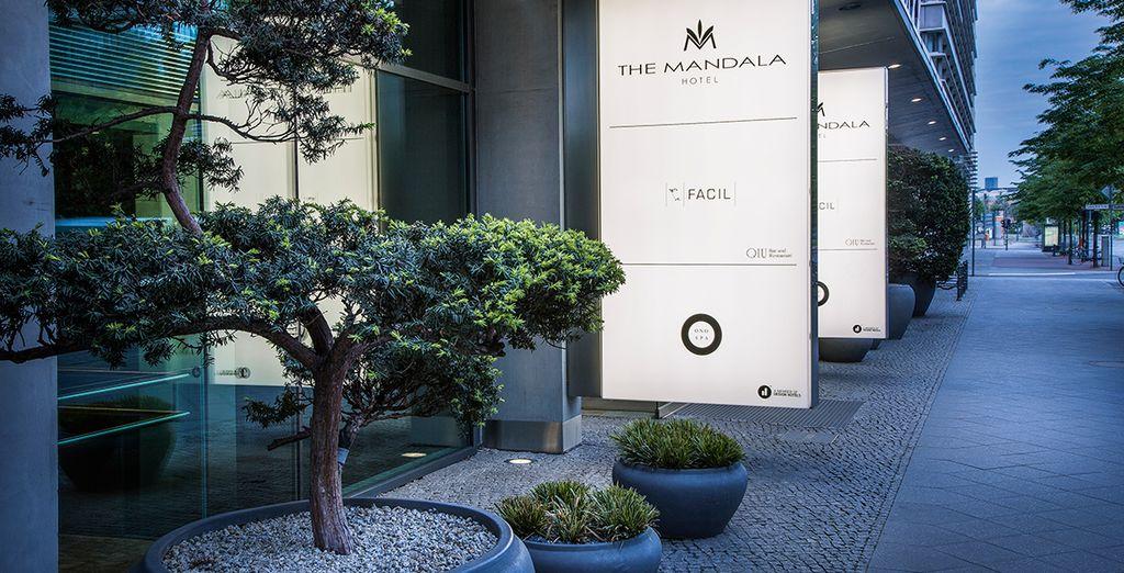 Welcome to the super stylish Mandala Hotel - The Mandala Hotel 5* Berlin
