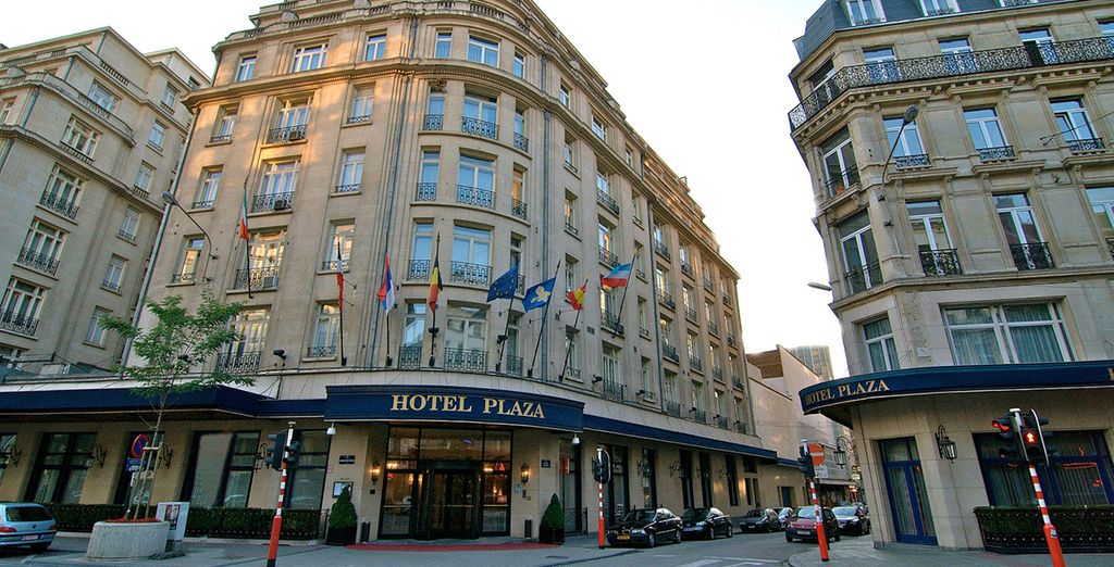 At the elegant Le Plaza - Le Plaza Brussels 5* Brussels