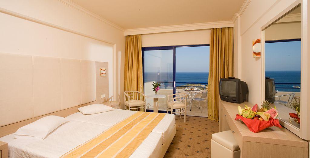 Enjoy a Double Sea View Room
