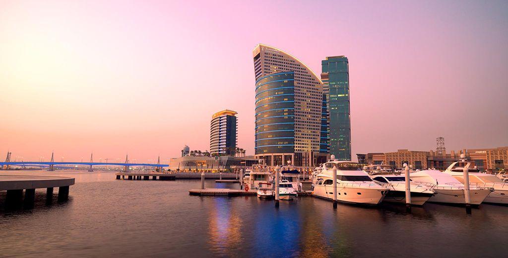 All at the InterContinental Dubai Festival City
