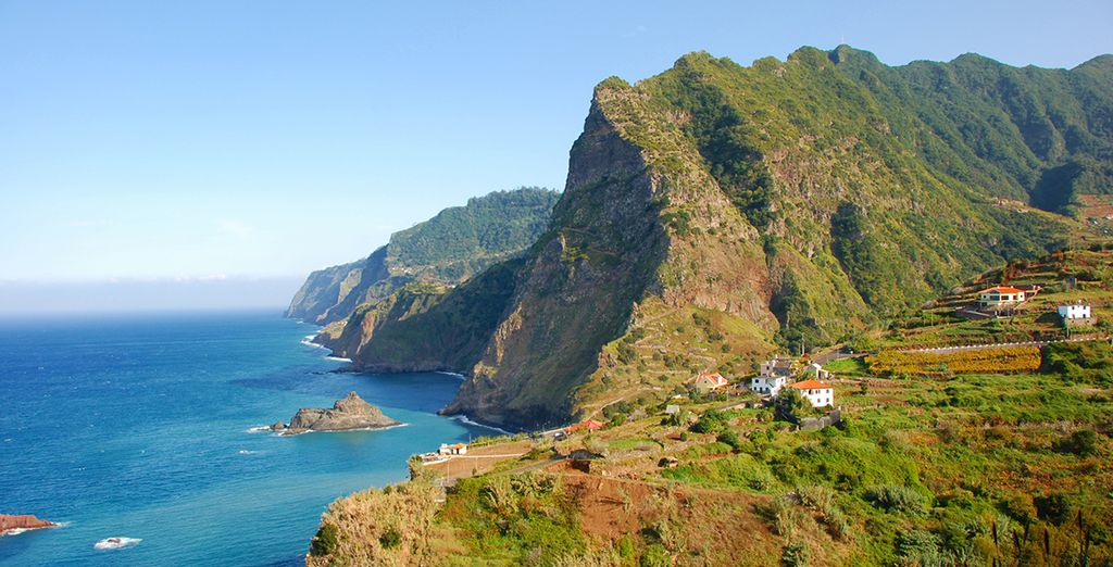 On the stunning island of Madeira - The Vine - A Divine Hotel 5* Funchal