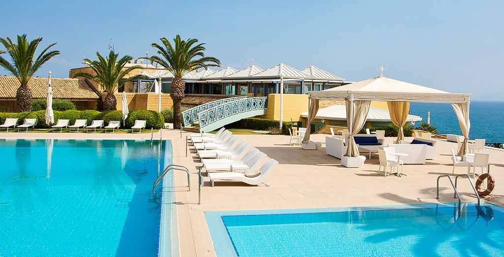 Get set for a relaxing stay... - Venus Sea Garden Resort 4* Brucoli