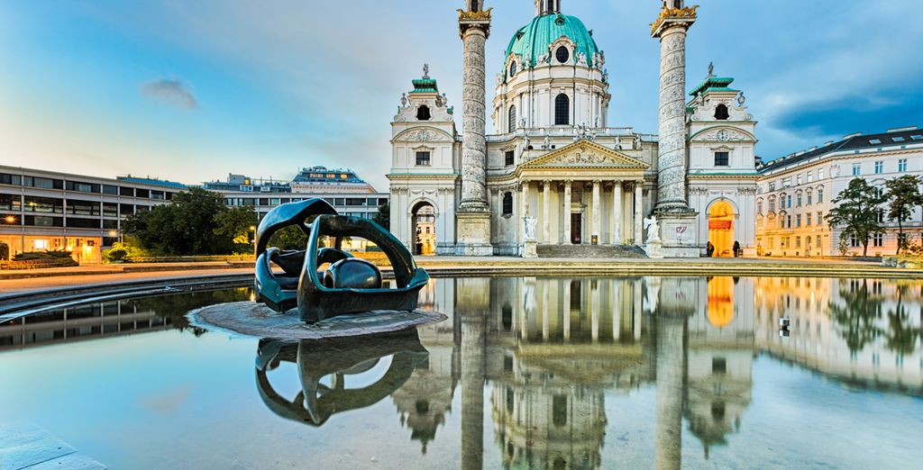 Discover beautiful Vienna