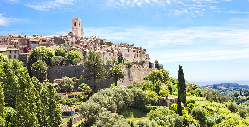 You're just 10 minutes from medieval St Paul de Vence