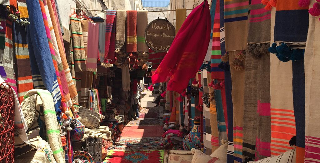 Get lost in the medina