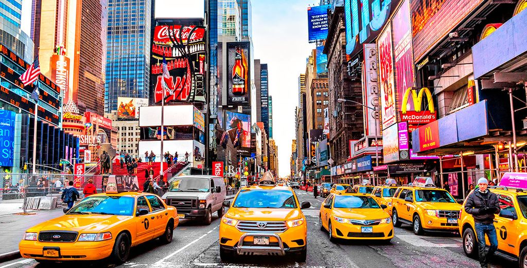 Discover one of the most interesting cities in the world - The New Yorker, A Wyndham Hotel 4* New York