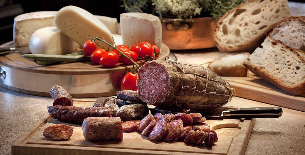 Made from fresh Italian produce