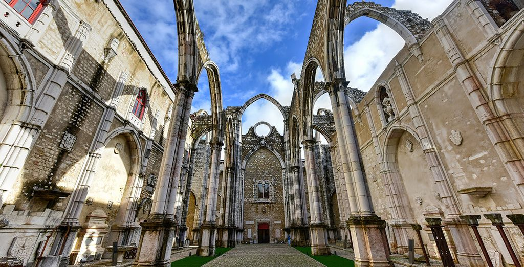 Delve into history at the Carmo Convent