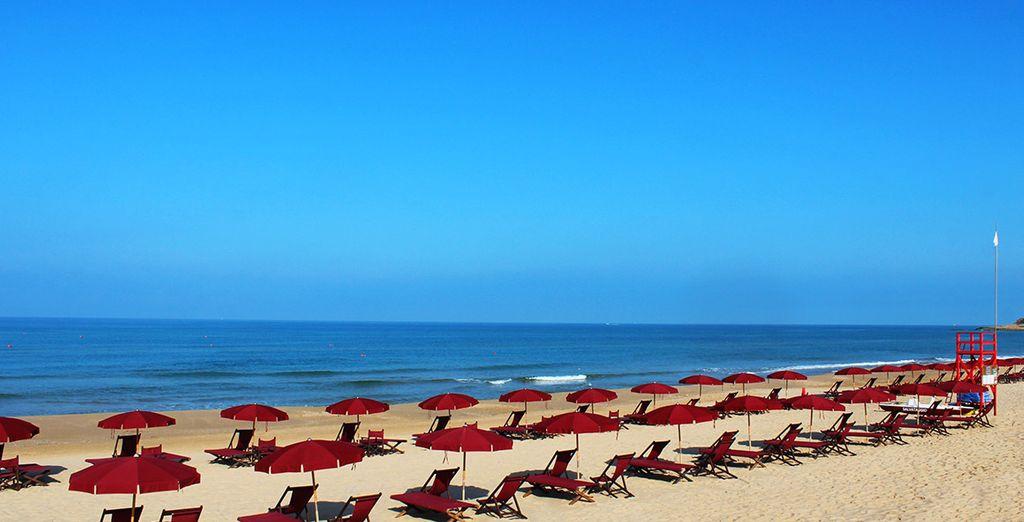 Amid pristine beaches
