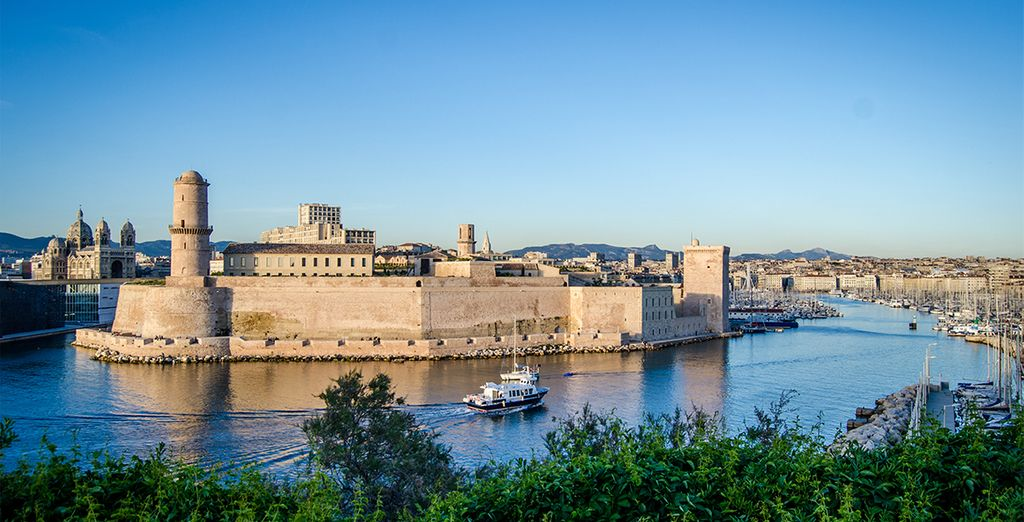 Visit the 17th century Fort Saint-Jean to discover its history