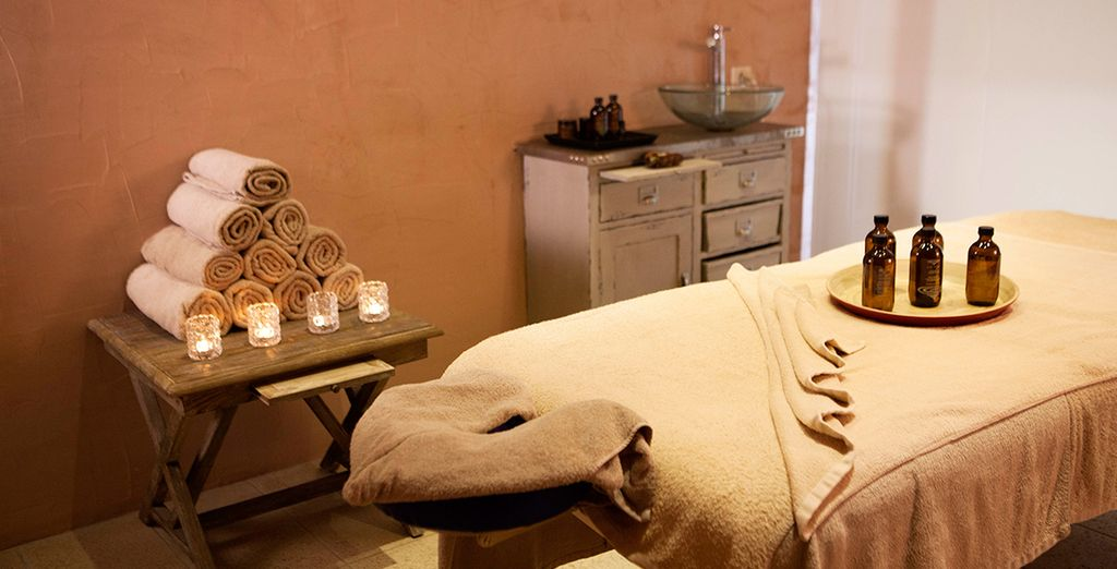 Where we've included a complimentary massage