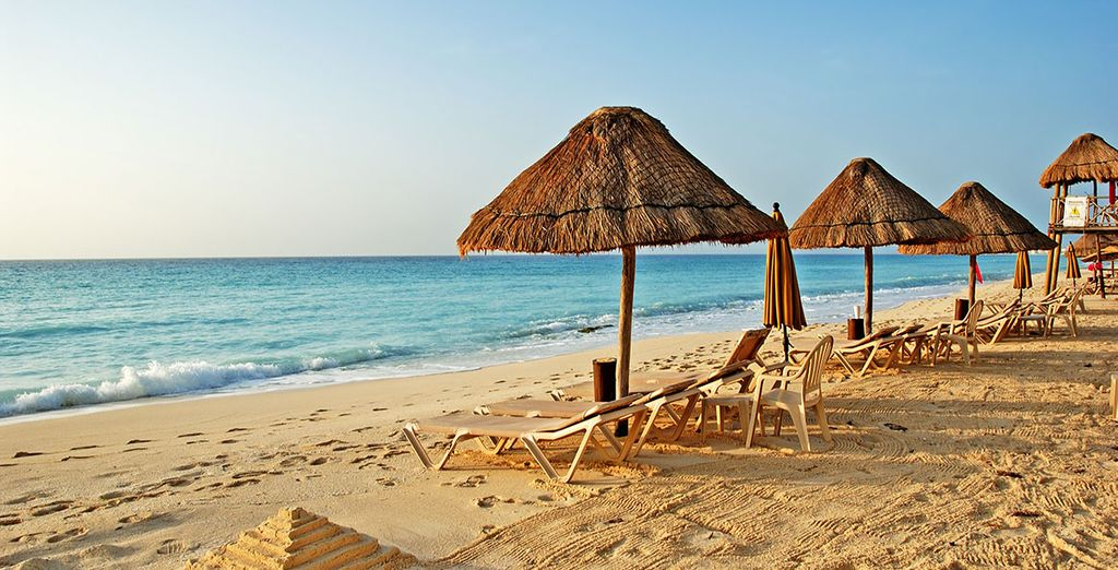 ...And the powdery, sun baked beaches, you'll be spoiled for choice!