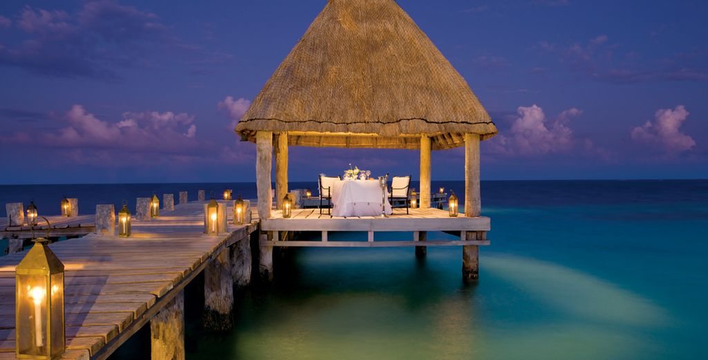 This is the ideal setting for some romantic moments
