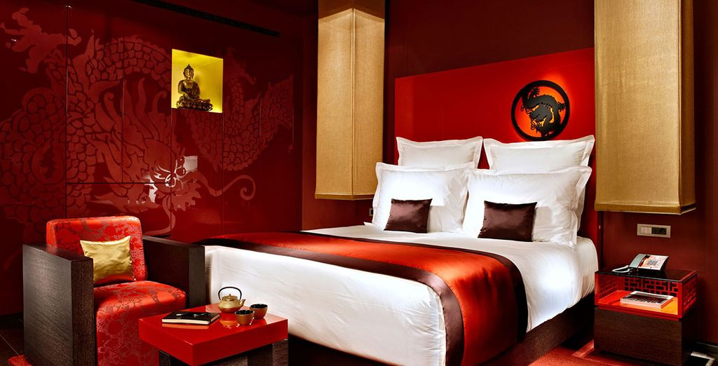 Our members can enjoy all the opulence of  Deluxe Room