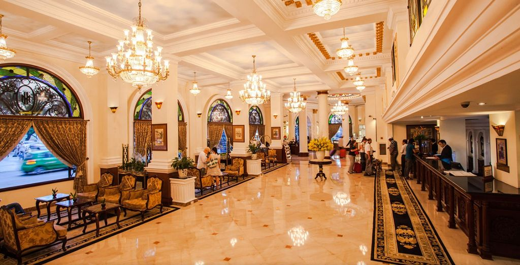 Stay in majestic hotels