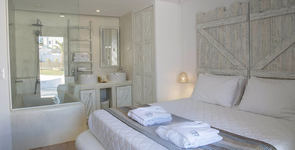 Your Superior Room is calm and sophisticated