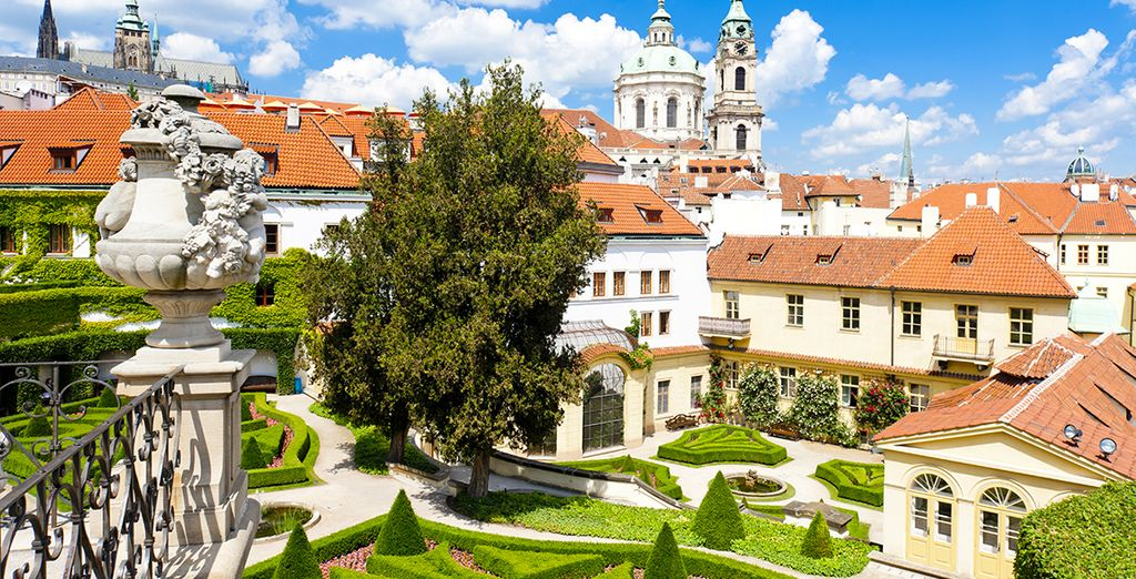 Where you will find regal gardens surrounded by picture-perfect buildings