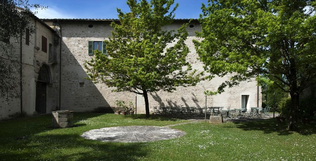 Once an ancient Benedictine abbey and a papal villa