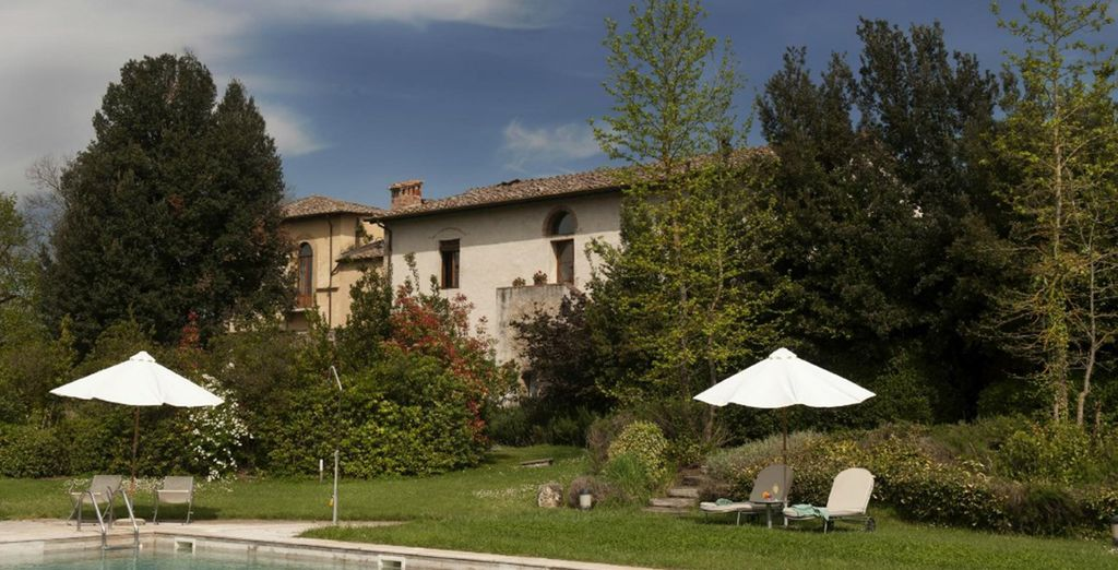 Relax under the Tuscan sun