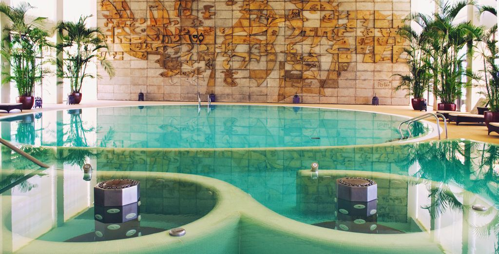 Relax in the Spa - you have 1 access per person per stay included!